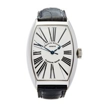 Franck Muller Steel 32mm Automatic 5850SCR pre-owned United Kingdom, Bishop's Stortford