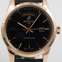 Breitling Transocean Day & Date Rose gold 43mm Black United States of America, Indiana, Carmel