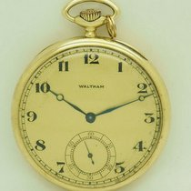 Waltham Yellow gold Manual winding pre-owned