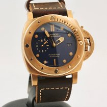Panerai Bronze Automatic Blue No numerals 47mm pre-owned