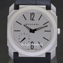 Bulgari Steel 40mm Automatic 103035 BGO40C14SLXTAUTO pre-owned United Kingdom, London, Paris, Brussels & Barcelona face to face delivery only - Other countries shipping with Brinks & DHL Express