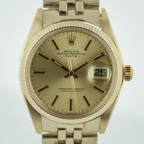 Rolex Oyster Perpetual Date Yellow gold 34mm No numerals United States of America, California, Pleasant Hill