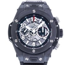 Hublot Big Bang Unico pre-owned 45mm Transparent Date Rubber