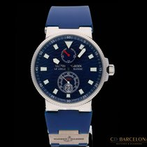 Ulysse Nardin pre-owned Automatic 41mm Blue Sapphire Glass