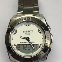 Tissot Racing-Touch Acero 43.1mm Blanco Sin cifras