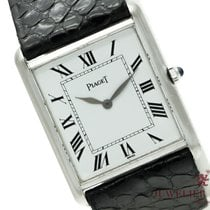 Piaget White gold 23mm Manual winding Piaget Tank pre-owned