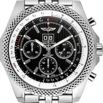 Breitling Bentley 6.75 new Automatic Chronograph Watch with original box A4436412-BE17-990A
