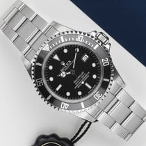 勞力士 Sea-Dweller 4000 鋼 40mm 黑色