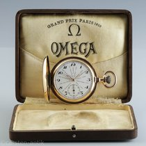 Omega Good Yellow gold 54mm Manual winding