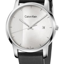ck Calvin Klein Steel 43mm Quartz K2G2G1CX new
