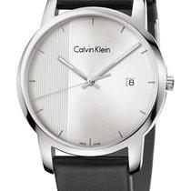 ck Calvin Klein Steel 43mm Quartz K2G2G1CX new