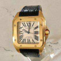 Cartier Santos 100 Yellow gold White United States of America, New York, Brooklyn