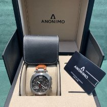 Anonimo Militare Steel 43.4mm Grey Arabic numerals