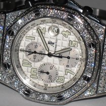 Audemars Piguet Royal Oak Offshore Steel 42mm Silver Arabic numerals United States of America, New York, NEW YORK CITY