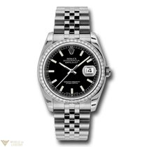 Rolex Oyster Perpetual Datejust Stainless Steel Unisex Watch...