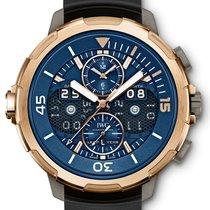 IWC Aquatimer Perpetual Calendar Digital Date-Month Blue