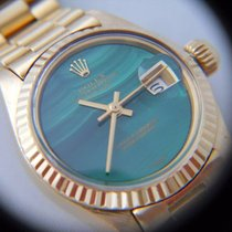 Rolex DATEJUST LADY REF.6917 MALAKITE DIAL