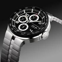 Porsche Design Flat Six Chronograph Herrenuhr ETA Valjoux 7750...