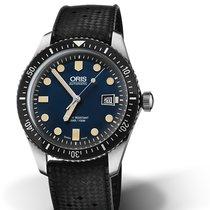 Oris 01 733 7720 4055-07 4 21 18 Oris SIXTY-FIVE Blu Nero Steel Divers Sixty Five 42mm new