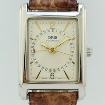 Oris Rectangular Pointer date Automatic Steel B7460