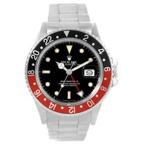 Rolex Gmt Master Fat Lady Vintage Coke Black Red Bezel Watch...