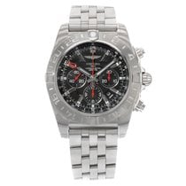 Breitling Chronomat GMT Steel 48mm Black No numerals United States of America, New York, NYC