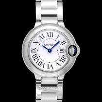 Cartier Steel 29mm Quartz W69010Z4 new