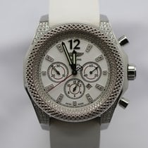 Breitling Bentley Barnato Steel 42mm White