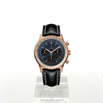 Breitling Navitimer 1 B01 Chronograph 43 Rose gold 43mm Blue