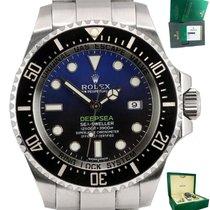 Rolex Chronometer 40mm Automatic pre-owned Sea-Dweller Deepsea Blue
