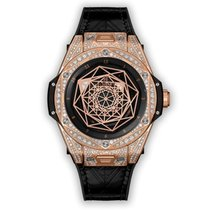 Hublot Big Bang Sang Bleu Rose gold 39mm Black UAE, Dubai