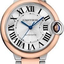 Cartier Ballon Bleu 36mm neu 36mm Gold/Stahl