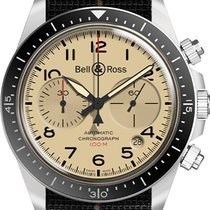 Bell & Ross BR V2 Steel 41mm Champagne United States of America, New York, Airmont