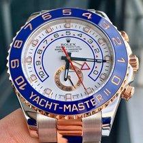 Rolex Yacht-Master II Złoto/Stal 44mm Biały Bez cyfr Polska, Warszawa