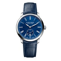 Ulysse Nardin Classico Steel 40mm Blue Roman numerals United States of America, New York, New York
