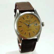 Rolex Oyster Perpetual Date pre-owned 34mm Date Leather