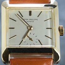 Patek Philippe Oro amarillo Cuerda manual Plata Sin cifras 33mm usados