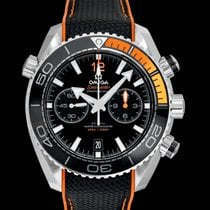 Omega Seamaster Planet Ocean Chronograph Steel Black United States of America, California, San Mateo