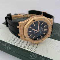 Audemars Piguet 15400or.oo.d002cr.01 Roségold 2012 Royal Oak Selfwinding 41mm gebraucht