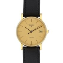 Longines Yellow gold 34mm Automatic L7.889.6 pre-owned