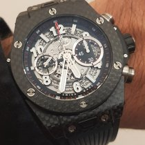Hublot Big Bang Unico Carbon 45mm Black No numerals