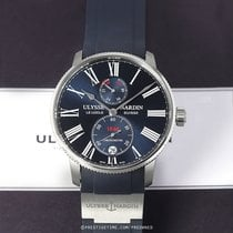 Ulysse Nardin pre-owned Automatic 42mm Blue