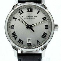 Chopard Steel Automatic Silver Roman numerals 42mm pre-owned L.U.C