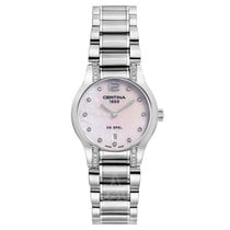 Certina DS Spel Lady Steel 36mm Mother of pearl Arabic numerals