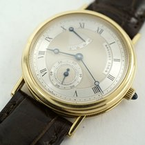 Breguet Yellow gold Automatic White 35mm pre-owned Classique
