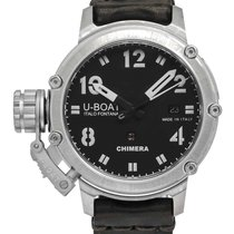 U-Boat Chimera Silver 43mm Black United States of America, New Jersey, Cresskill
