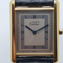 Cartier Tank (submodel) 6 81006 Very good Silver 23.6mm Quartz