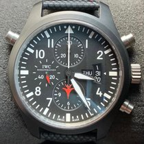 IWC Pilot Chronograph Top Gun IW379901 Very good Ceramic 46mm Automatic