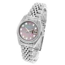 Rolex Lady-Datejust Acier 26mm Nacre
