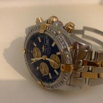 Breitling Chronomat Evolution Gold/Stahl 44mm Blau Keine Ziffern Deutschland, bremen